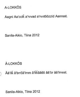 A-lokkos